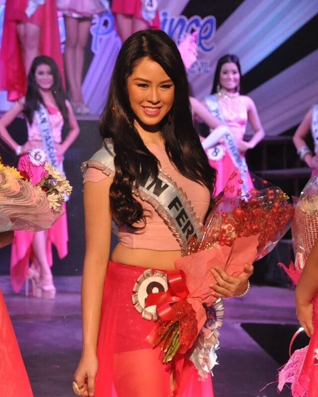 kisses delavin pageant throwback