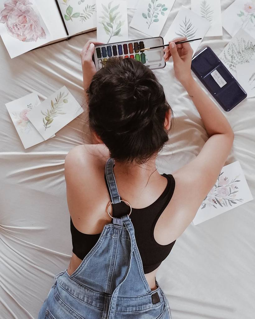 Avin del Rosario's creative outlets