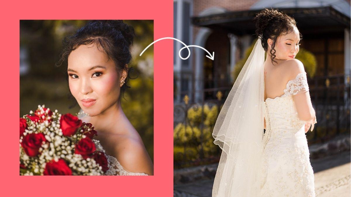 Pinay bridal photoshoot