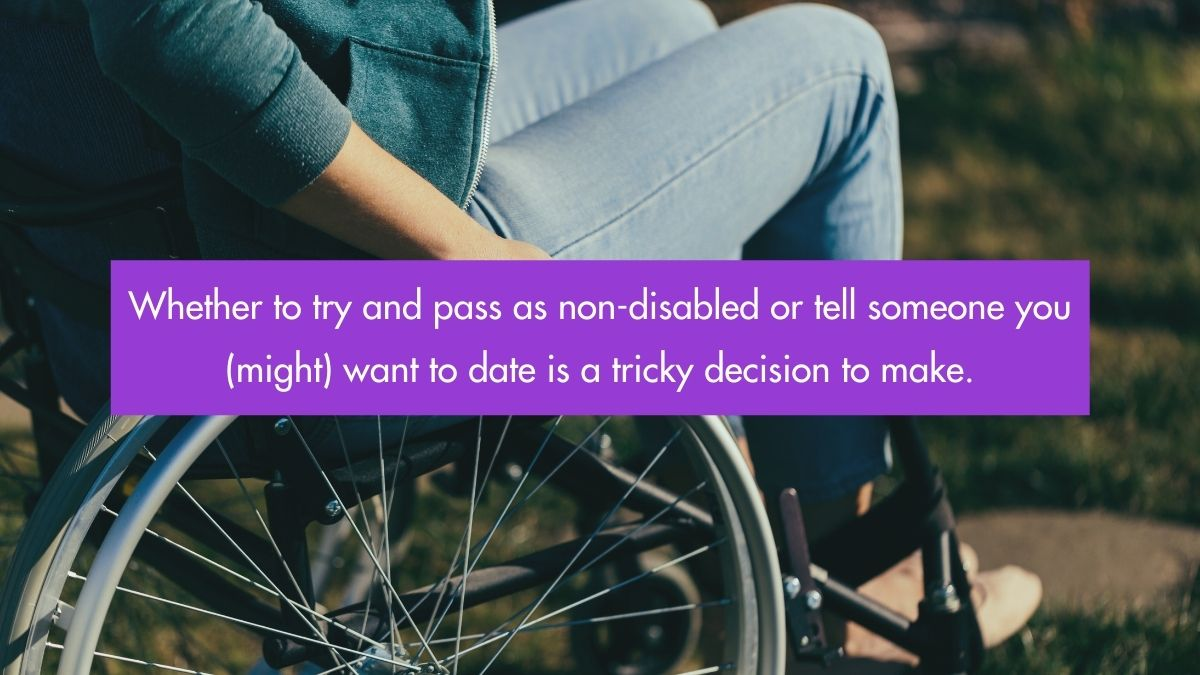 Should I Mention My Disability On A Dating App?
