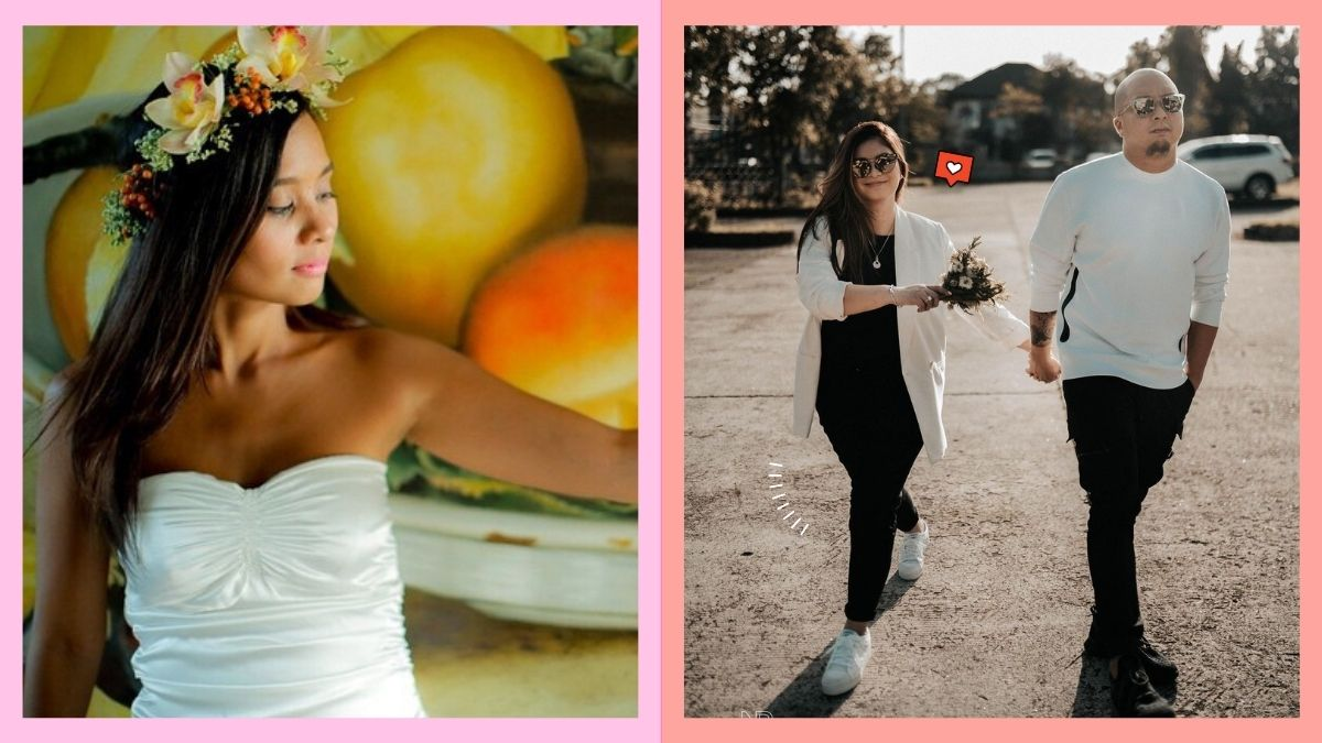 Celebrity Brides who wore simple outfits on their weddings: Kitchie Nadal, Angel Locsin