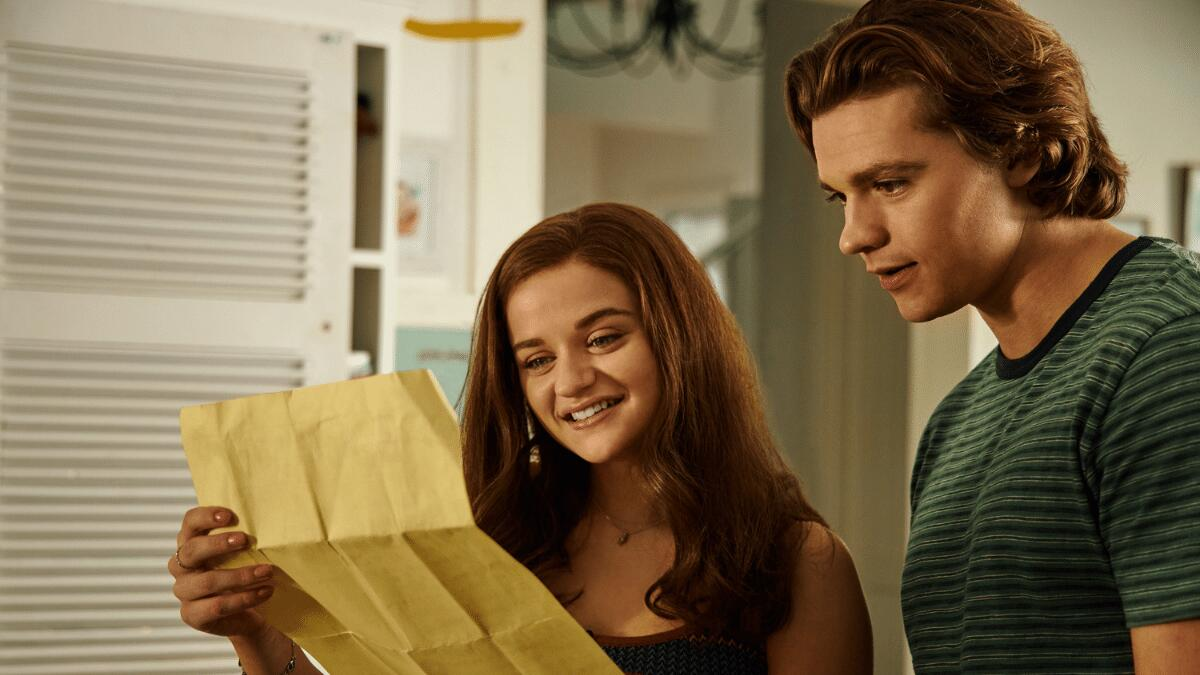 Is Joey King Wearing A Wig In The Kissing Booth 3