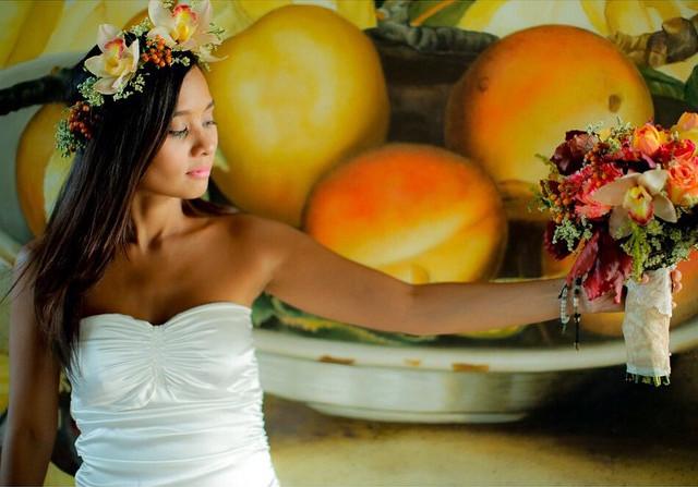 Kitchie Nadal wedding gown