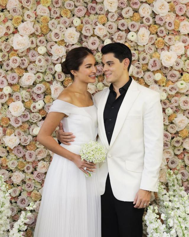 Sarah Lahbati Richard Guttierez Wedding