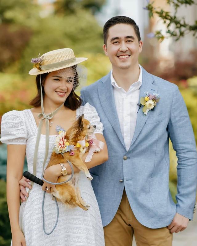 Yam Concepcion and Miguel Cuunjieng wedding