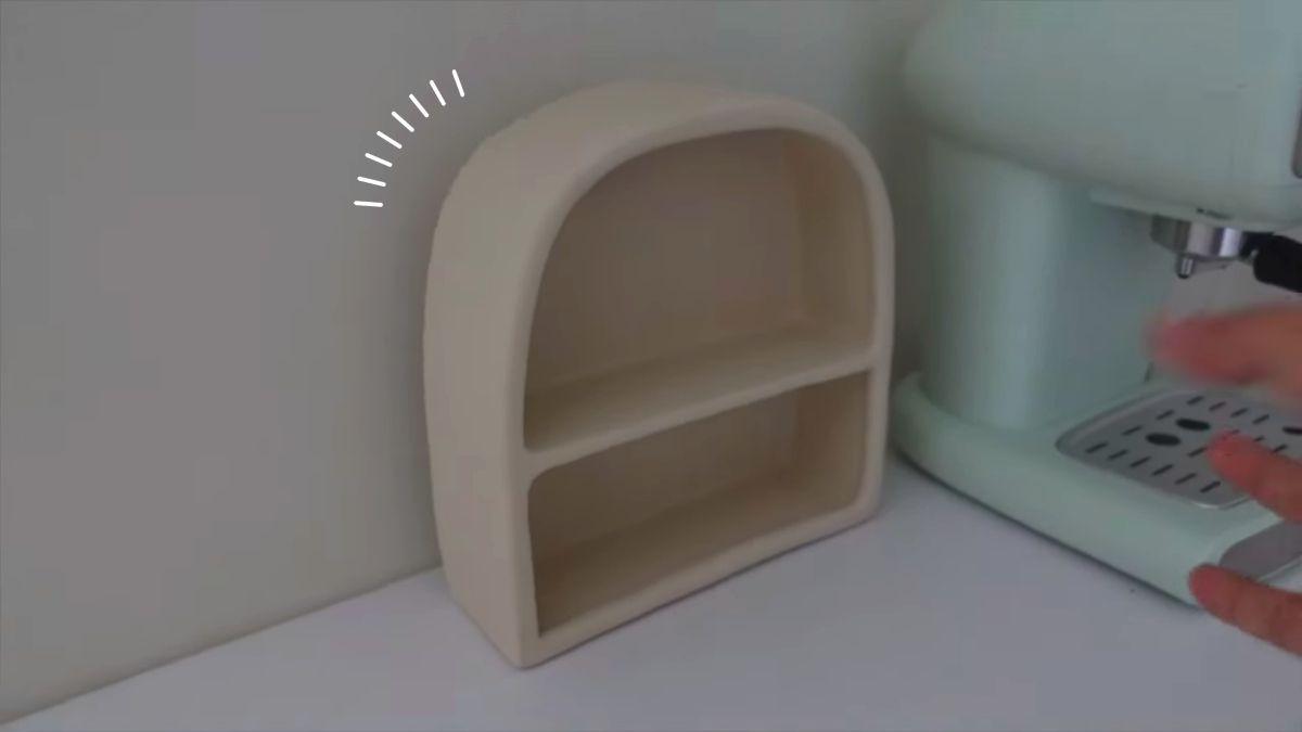 ashley garcia - shelf, coffee station