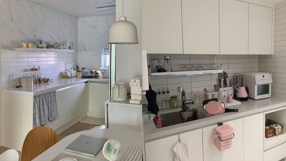 ashley garcia - kitchen makeover, coffee station
