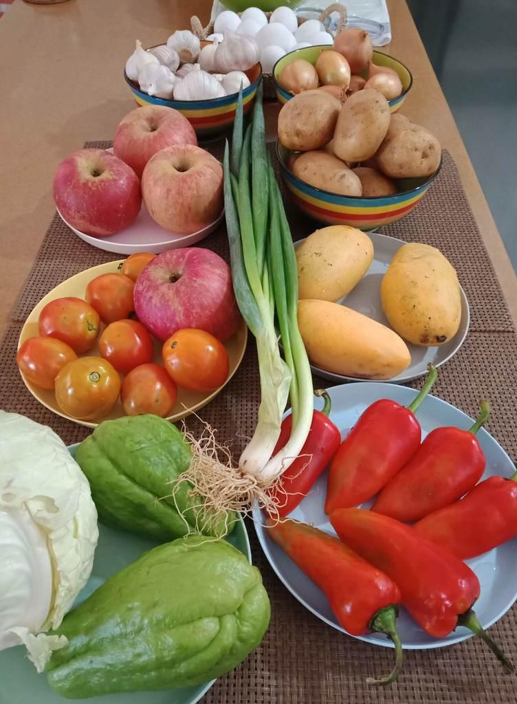 Moving to La Union: more produce