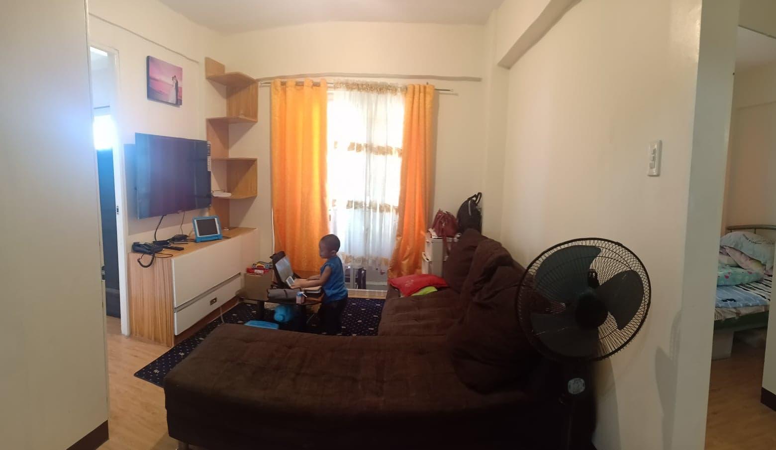 Soleta family's condo, before renovation