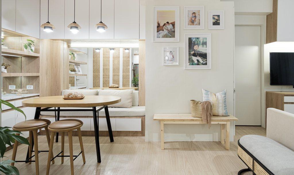 Villa Soleta, condo renovation - dining area