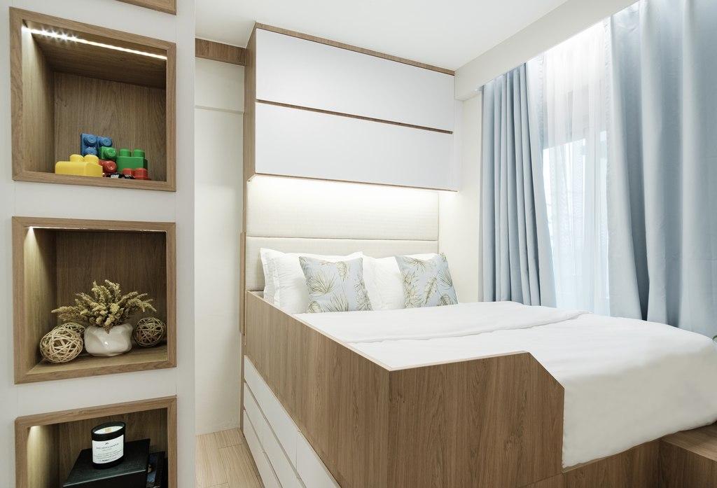 Villa Soleta, condo renovation - bedroom