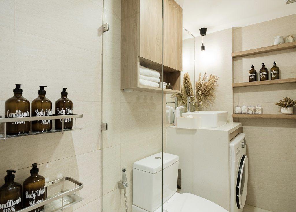 Villa Soleta, condo renovation - bathroom