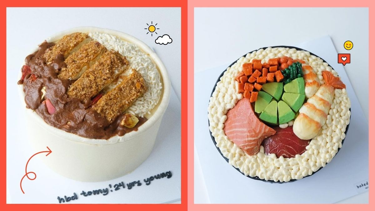 Cute Customized Quirky Cakes from Baked by Trimy