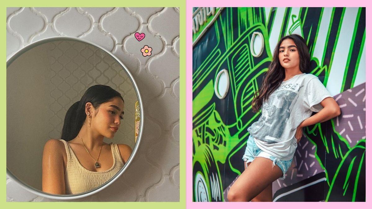 Andrea Brillantes Instagrammable wall poses