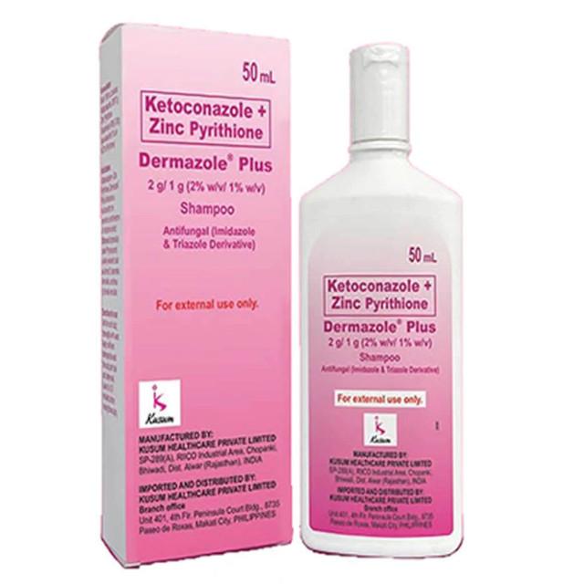 Dermazole Plus Zinc Shampoo