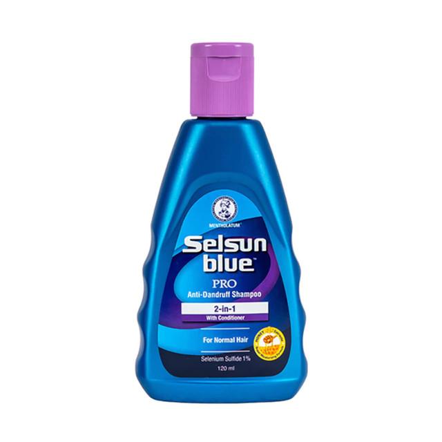 Selsun Blue 2-In-1 Dandruff Treatment Shampoo