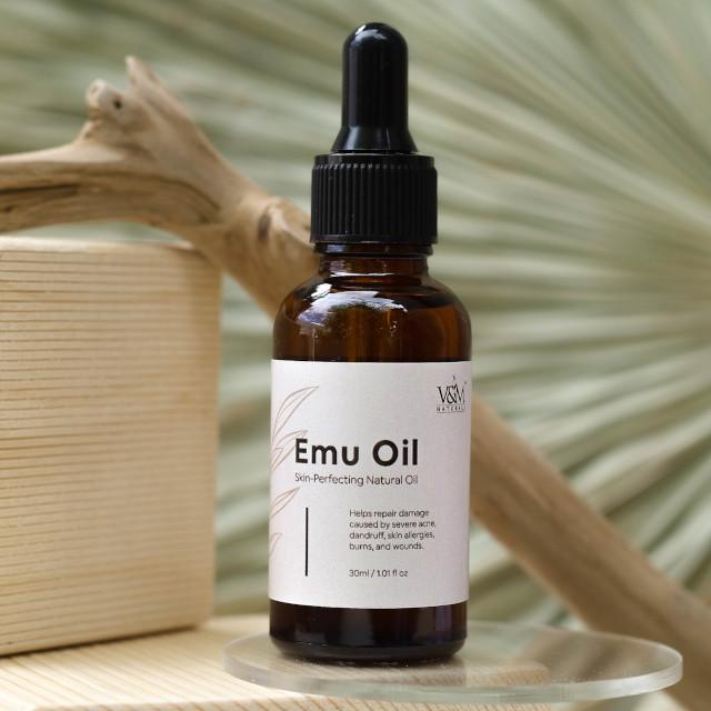 V&M Naturals Pure Actives Emu Oil