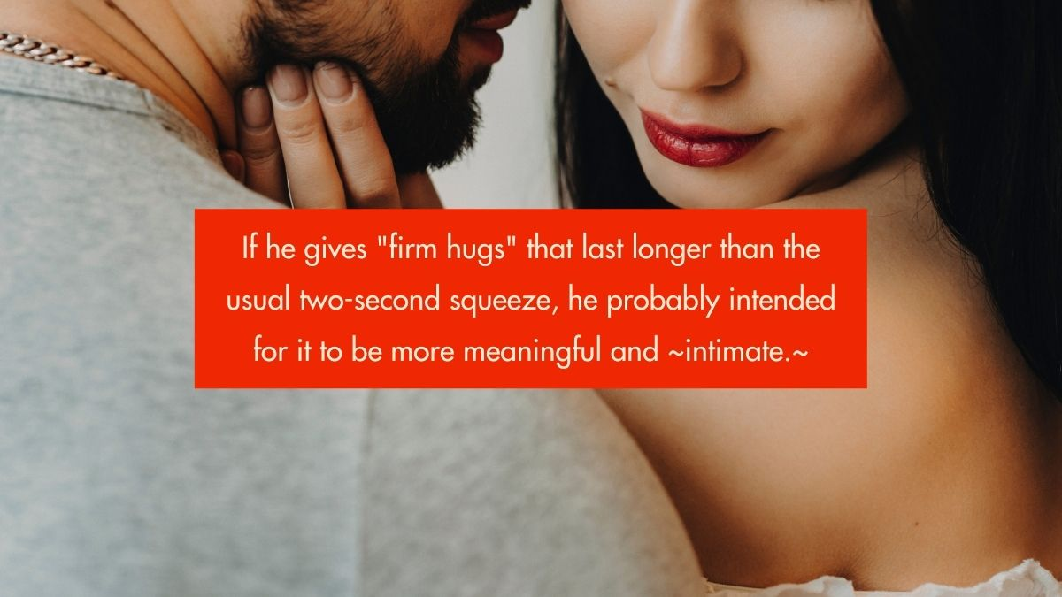 46 Body-Language Signs That Might Mean He's Really Into You