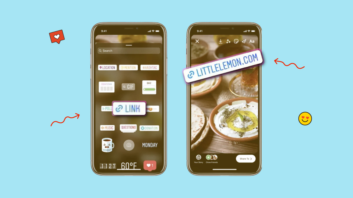 instagram new feature, retires swipe-up link