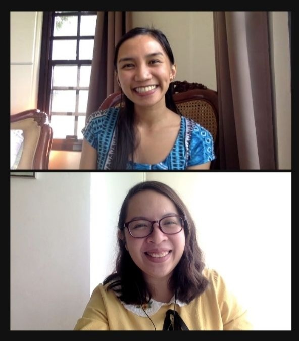 workmanship coaching video call discussing career