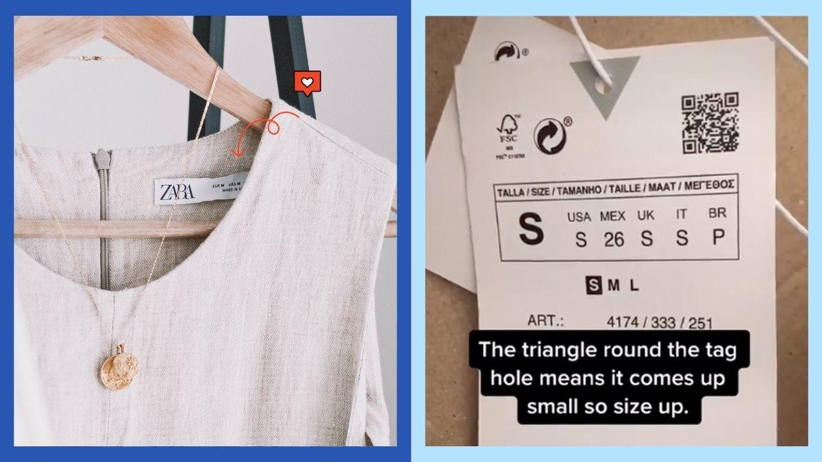 Zara Size Hack
