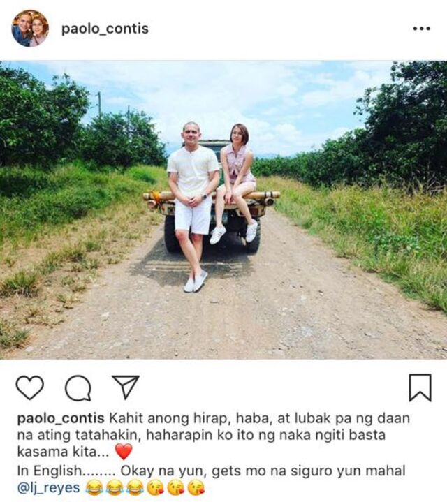 paolo contis' instagram posts about lj reyes