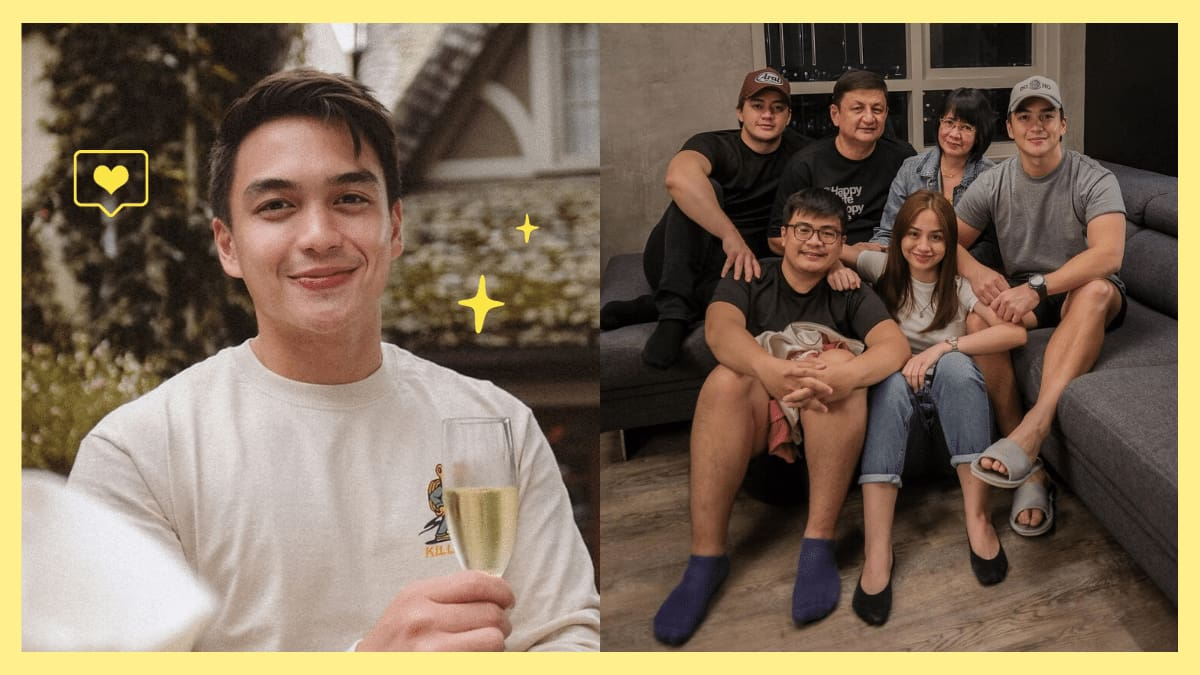 Dominic Roque Talks About Working Hard For His Family