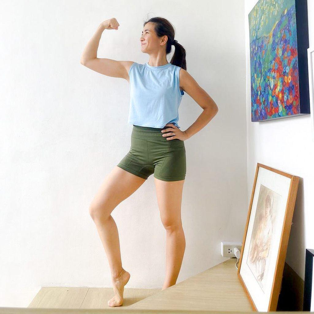 Rica Peralejo's fitness journey