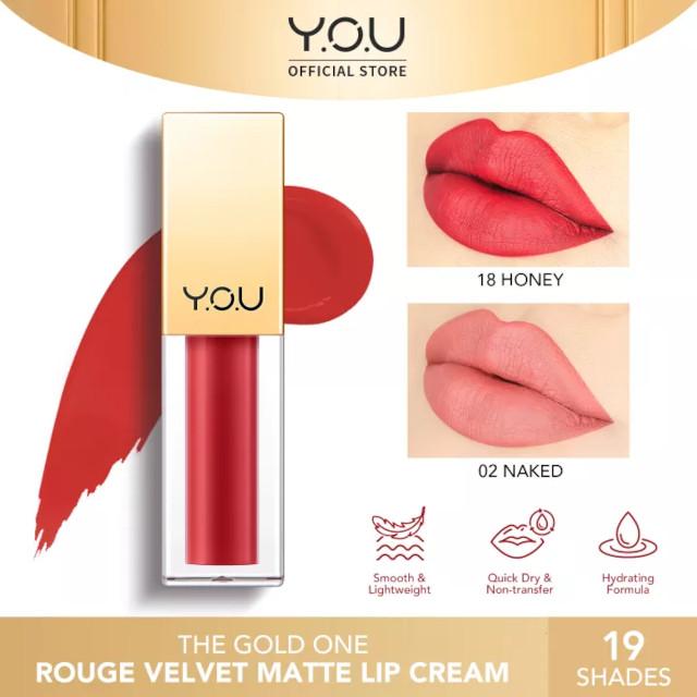 Y.O.U Rouge Velvet Matte Lip Cream