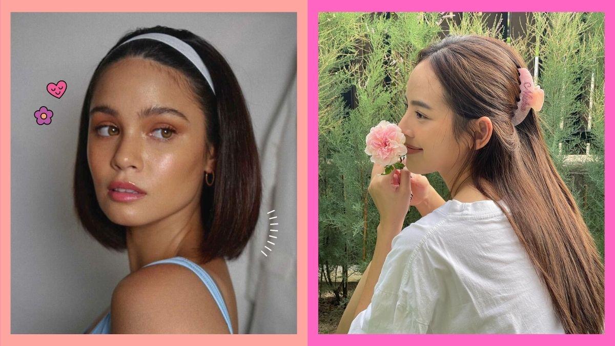 How to wear hair accessories, as seen on celebrities: Leila Alcasid, Nuttanicha D