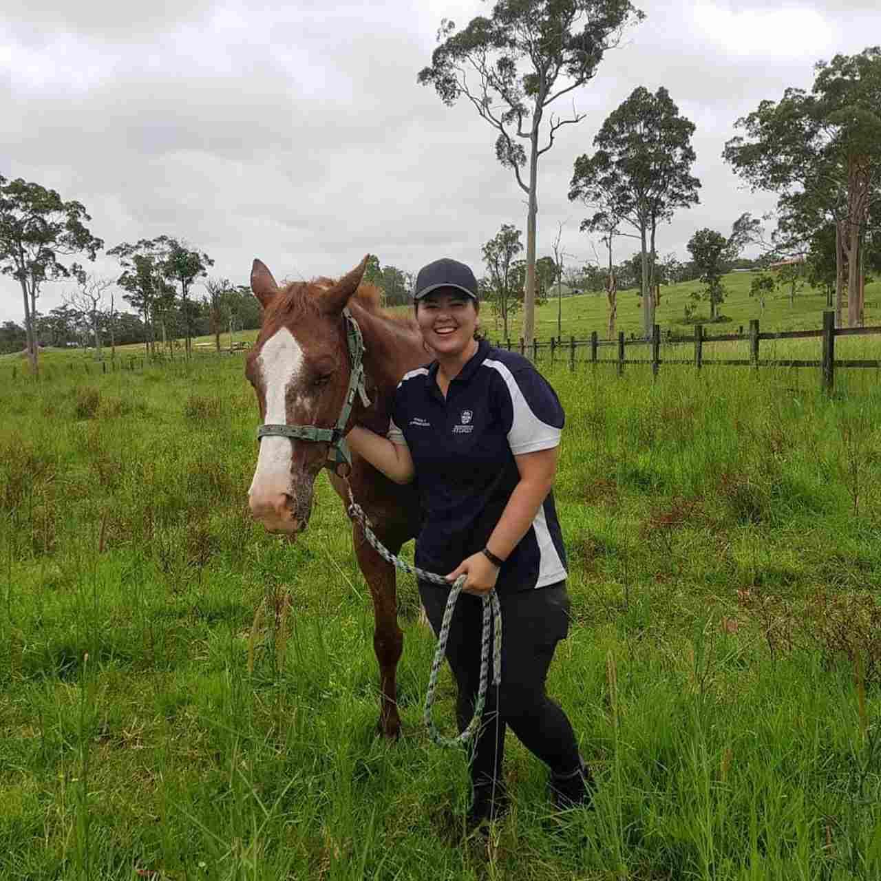 Isabel Padilla is taking up the Doctor of Veterinary Medicine program at an Australian university