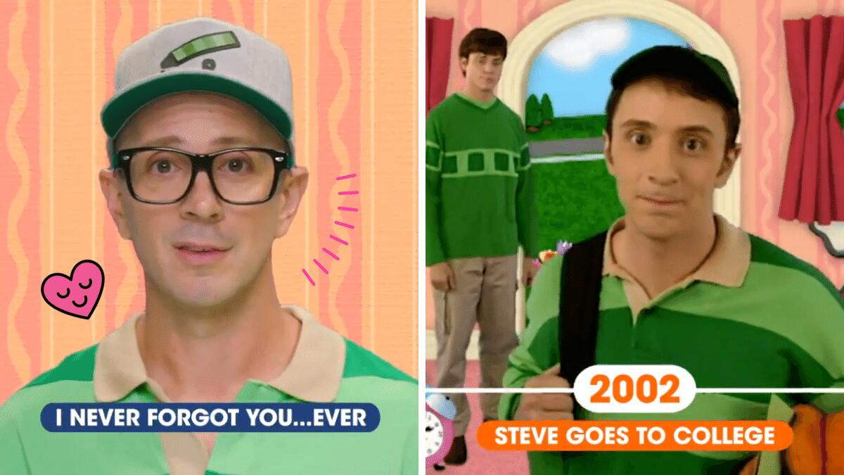 Blue's Clues Steve Message 25th Anniversary