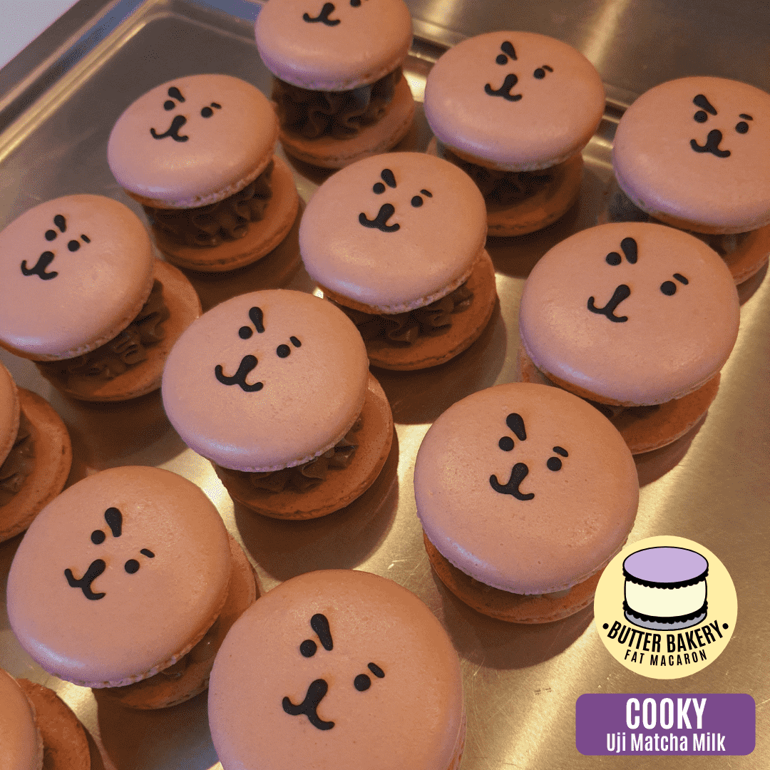 Where to buy BTS-inspired macarons - Cooky