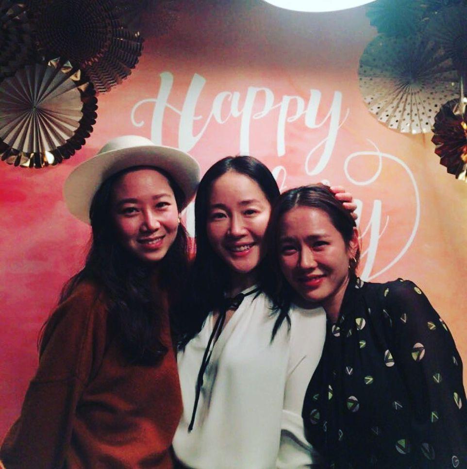 Gong Hyo Jin, Uhm Ji Won, and Son Ye Jin