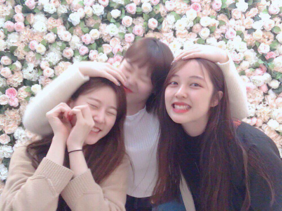 Lee Suhyun, Kim Sae Ron, and Kim Bo Ra