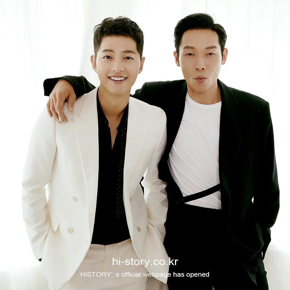 Song Joong Ki and Yang Kyung Won