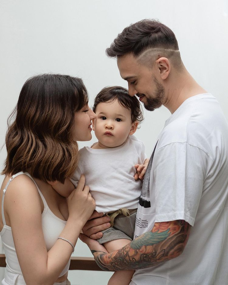 Baby Amari, son of Coleen Garcia and Billy Crawford, turns one year old