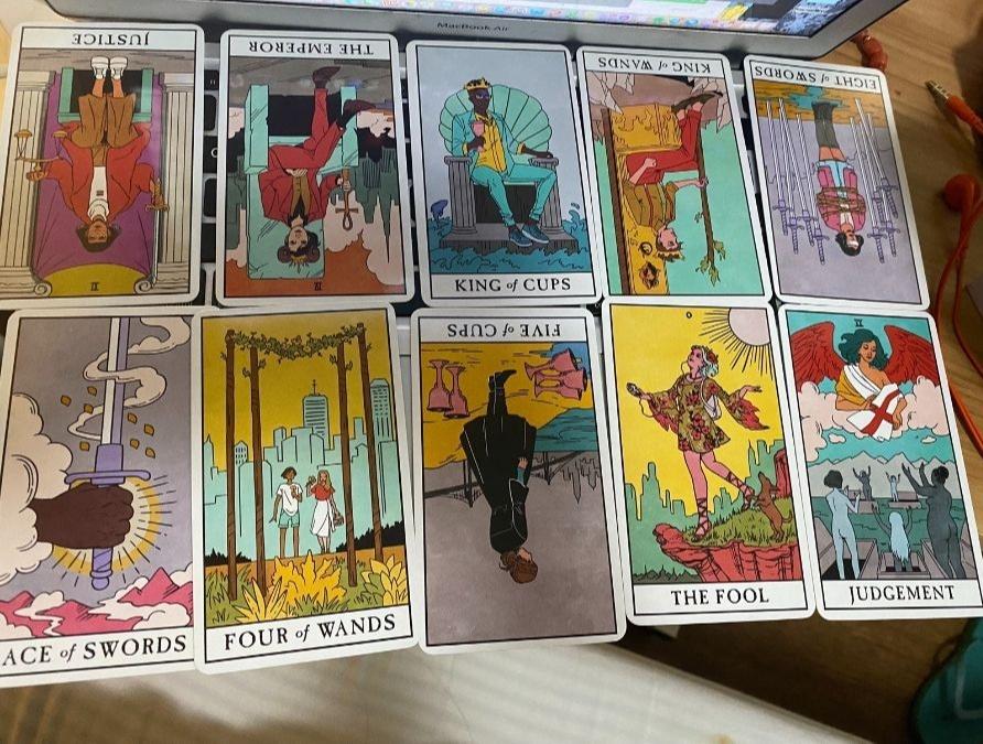 tandem reading - tarot cards