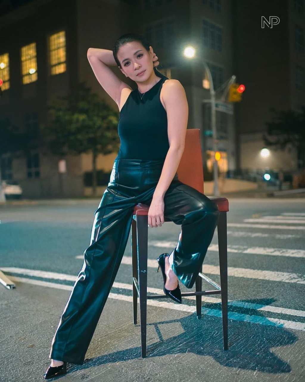 LJ Reyes attends NYFW 2021