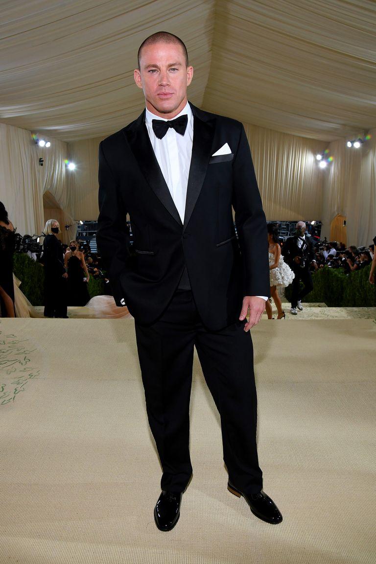 Channing Tatum at the 2021 Met Gala