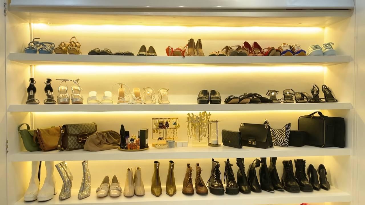 Maris Racal room tour: shoe rack