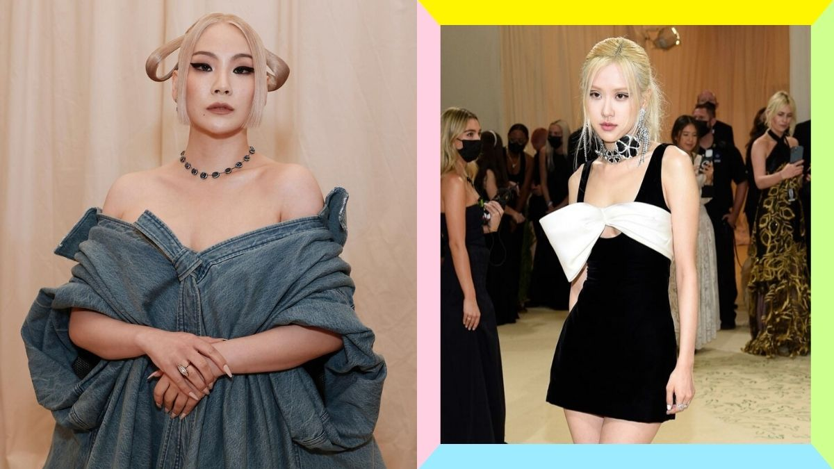 CL and BLACKPINK's Rose are the first female K-pop idols to attend the Met Gala