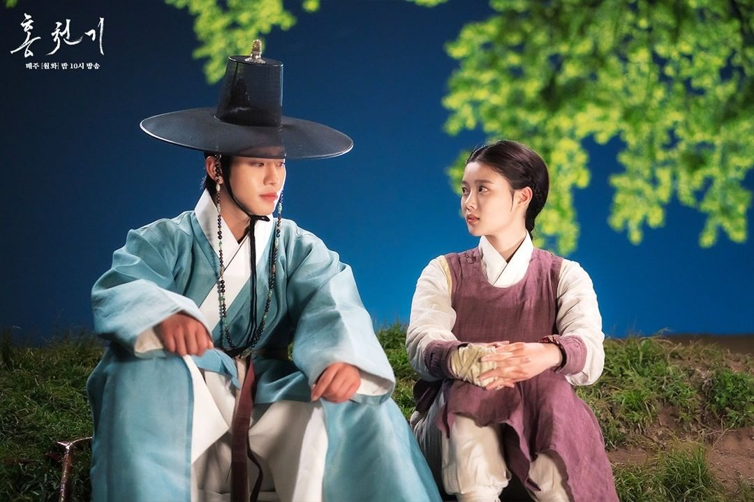 Kim Yoo Jung and Ahn Hyo Seop in Lovers Of The Red Sky