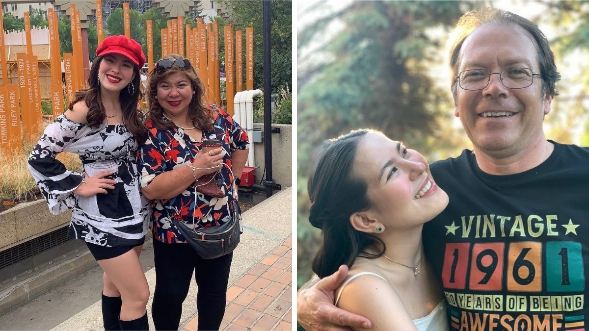 Pinay shares what it's like to graduate during a pandemic - pic with parents