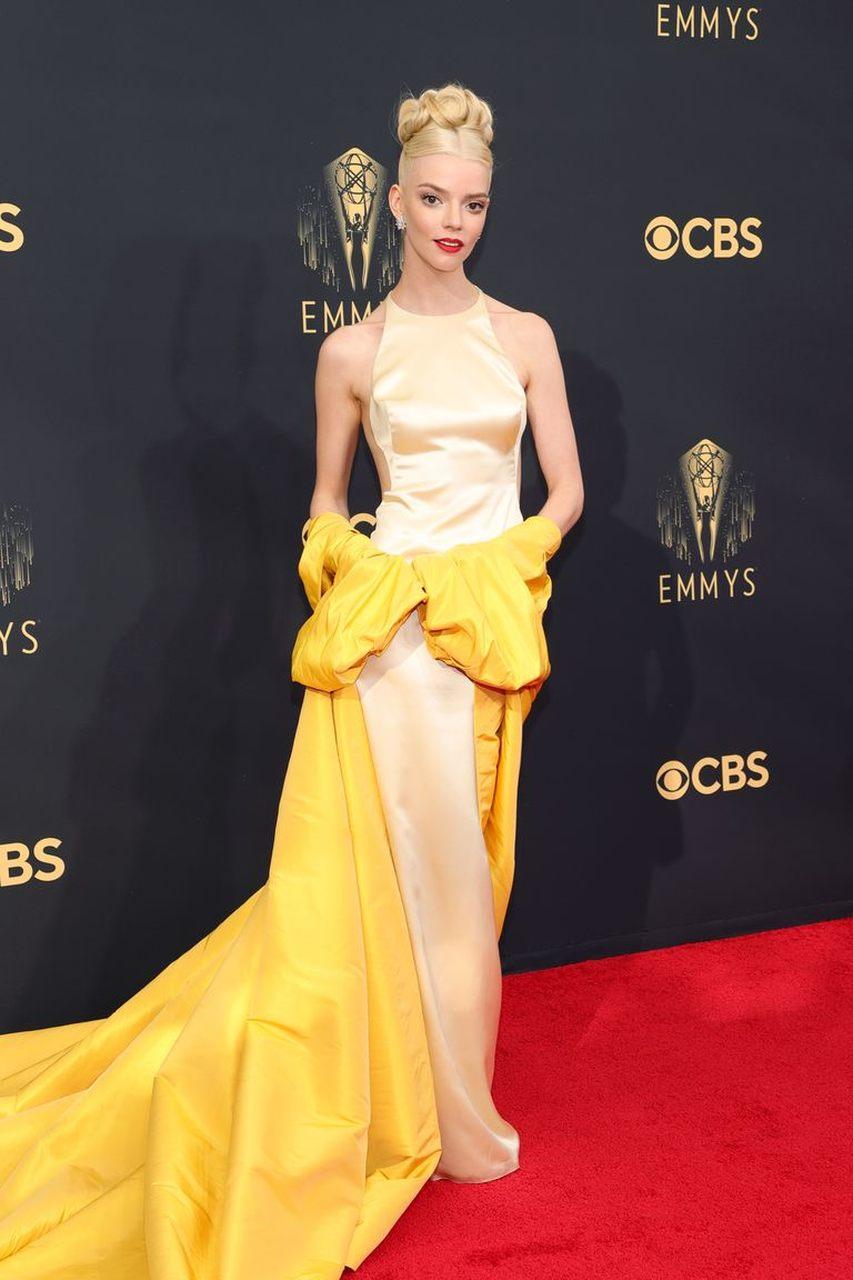 Anya Taylor-Joy at the 2021 Emmys
