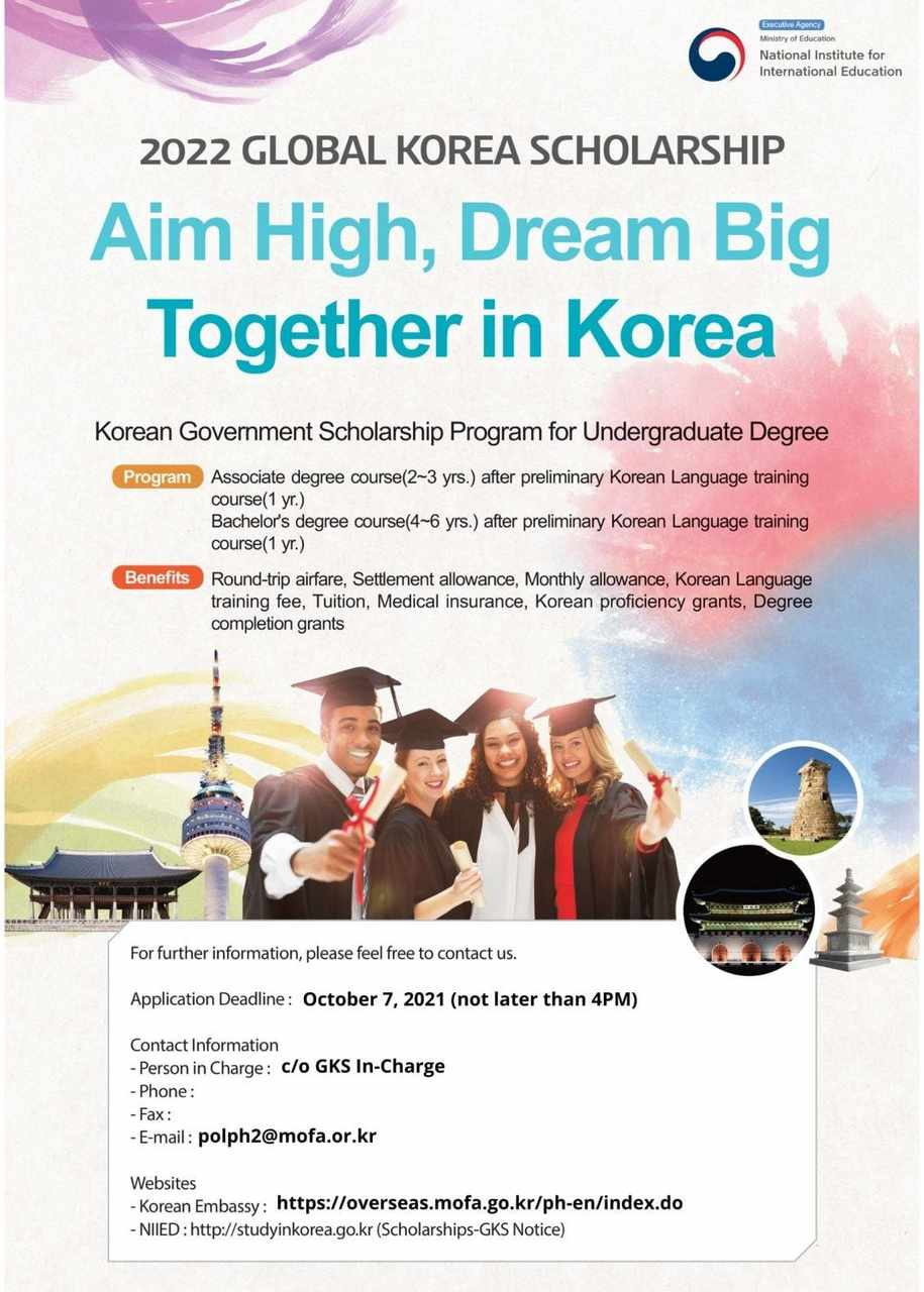 Global Korea Scholarship 2022