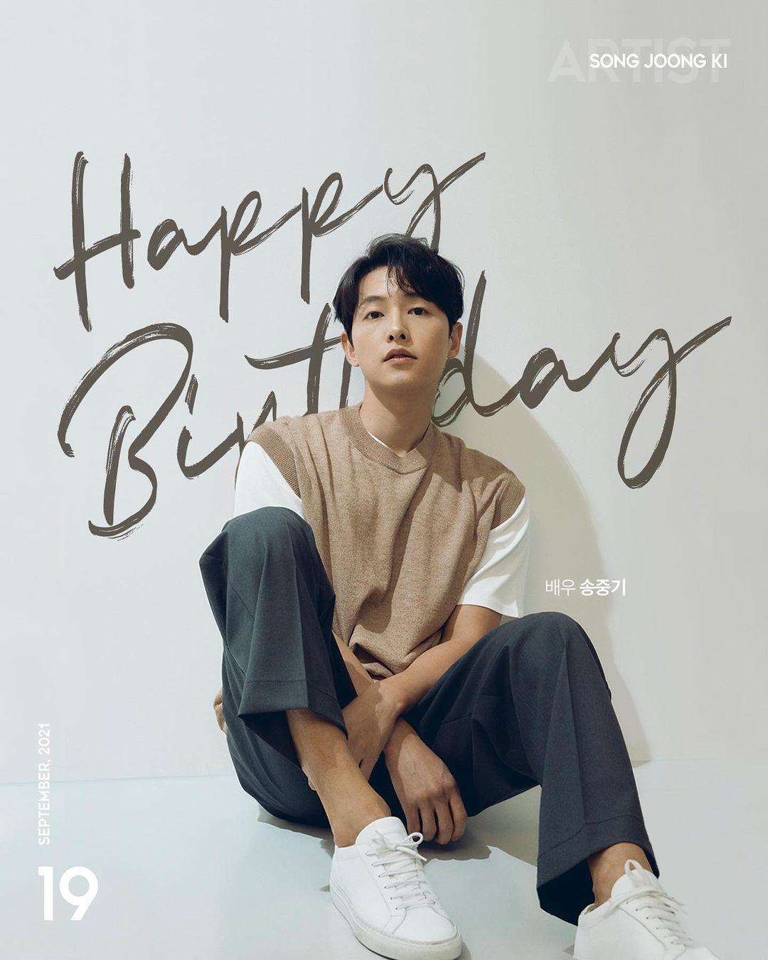 Song Joong Ki's birthday