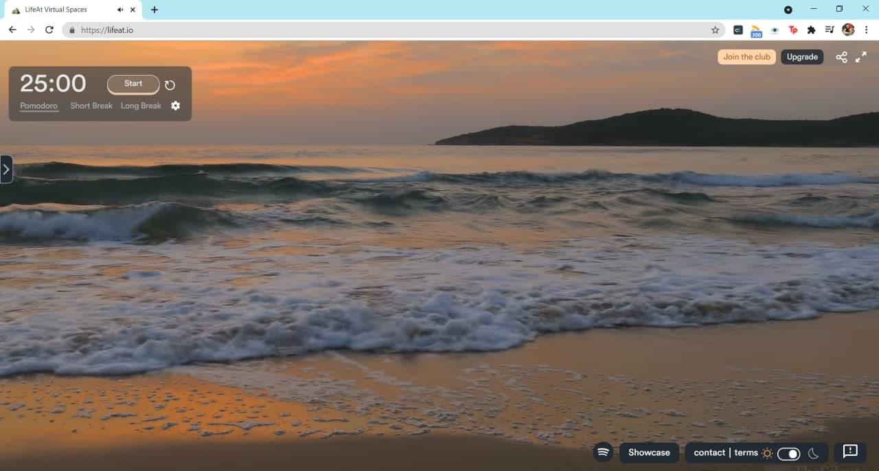 lifeat virtual spaces - beach