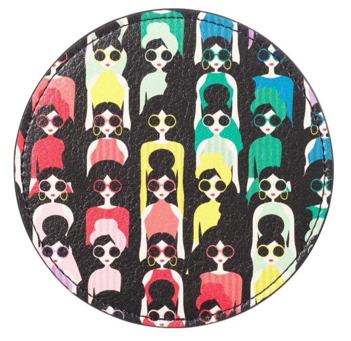 starbucks x alice and olivia designer merch collection - coaster