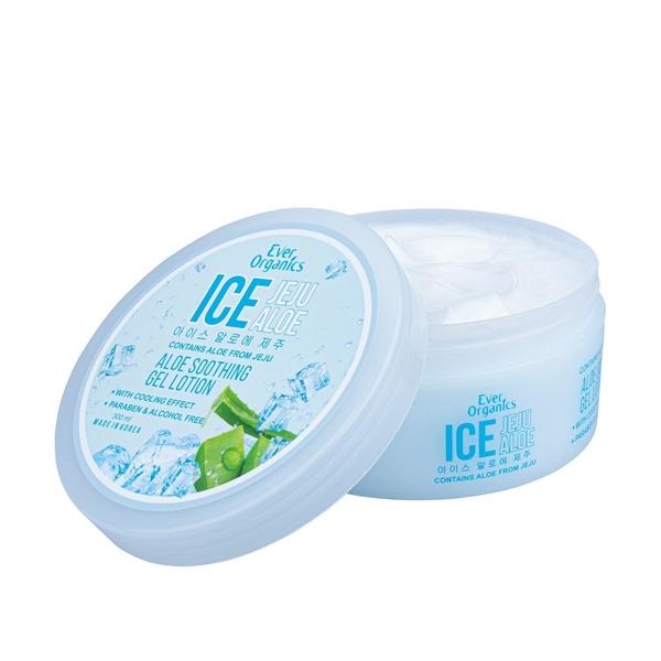 Ever Organics Ice Jeju Aloe Soothing Gel Lotion